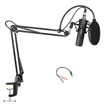 Neewer Condenser Microphone and Accessory Kit for Studio Broadcasting Recording