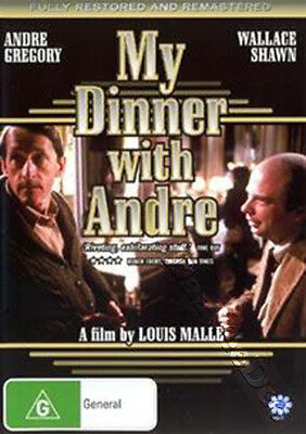 Andre Gregory Before And After Dinner New Dvd 2234