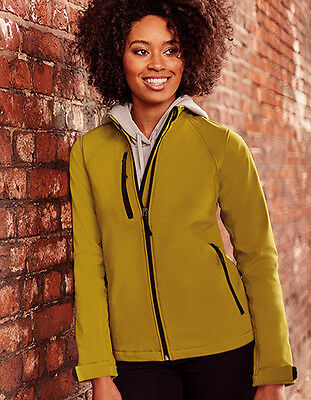 Russel Ladies Softshell Jacket XS - XXL 3XL 4XL Jacket Sizes Breathable NEW