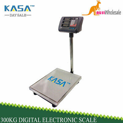 300kg Digital Electronic Scale Computing Platform Scales Shop Postal Weight