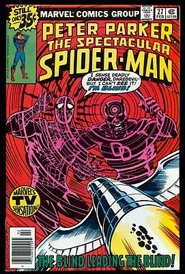 The Spectacular Spider-Man (1976 Series) # 27 - Feb 1979 | 7.0 FN/VF