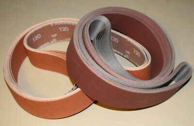 2 x 72 Sanding Belt Knife Making Starter Variety Kit Prem. Ceramic #1 -16 Belts