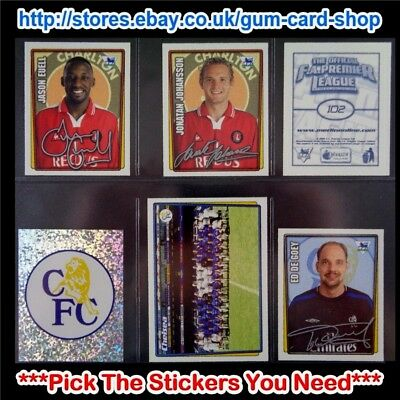Merlin Premier League 2001-2002 (100 To 199) *Select The Stickers You Need*