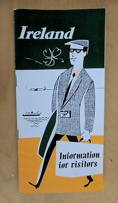 1957 GOING to IRELAND BROCHURE 24 PAGES IRISH TOURIST BOARD
