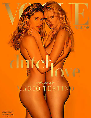 VOGUE Magazine Netherlands April 2017 LARA STONE Doutzen Kroes ANNIVERSARY ISSUE
