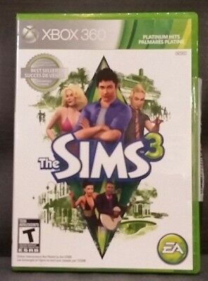 The Sims 3 (Microsoft Xbox 360, 2010) Video Game