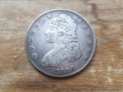 1836 Capped Bust Half Dollar  @@ must see @@@ lot 570