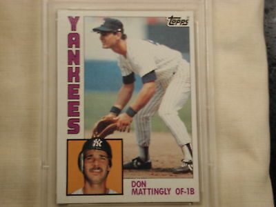 Don Mattingly 1984 Topps Nestle 8 Rc Rookie Card New York