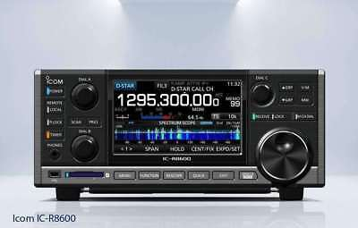 Icom IC R8600 receiver from basic scanner