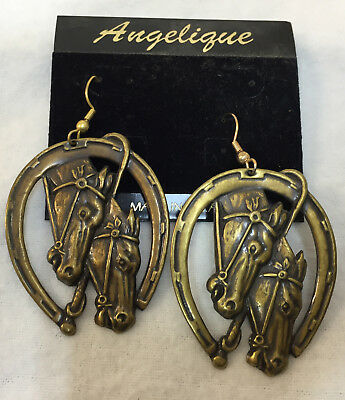 Western Earrings Country Dangle Cowboy Boots Hat Saddle Horse Denim Outfit Star