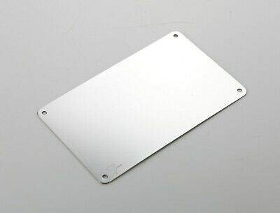 """304 Polished Mirror 19 Gauge Stainless Steel 6"""" x 10"""" Commercial School Hospital"""