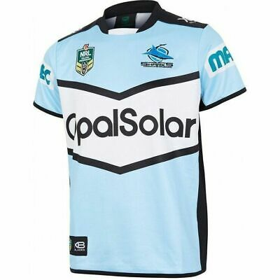 Cronulla Sharks NRL 2018 X Blades Home Jersey Adults, Kids & Toddlers Sizes!