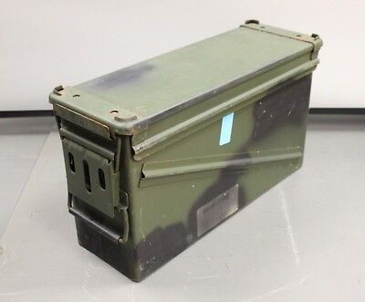 Military Issued PA-120 40mm Ammo Can, Steel,