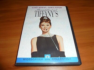 Breakfast at Tiffanys (DVD, 1999 Widescreen) Audrey Hepburn Used Tiffany's