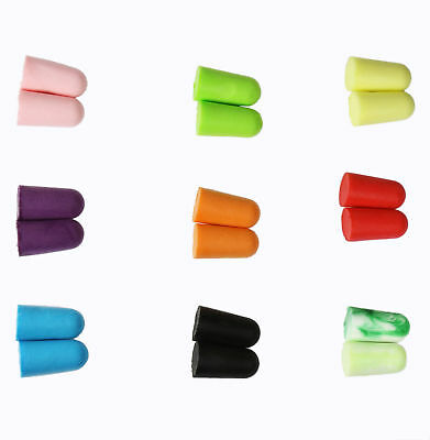 Wholesale Ear Plugs Soft Foam Sleep Travel Noise Canceling Earplugs 25/50/100