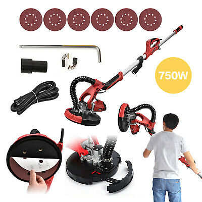 Drywall Sander 750W Commercial Electric Adjustable Variable Speed Sanding Pad