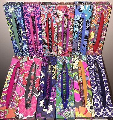 VERA BRADLEY Ball Point Pen PICK YOUR PATTERN  New in Package NWT RETIRED