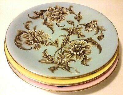 """RARE VINTAGE! Three 1949 BAILEY BANKS & BIDDLE 9"""" Dinner Plates! FREE SHIPPING!"""