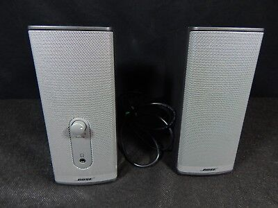 Bose Companion 2 Series II Desktop Computer Media Speakers Grey Black