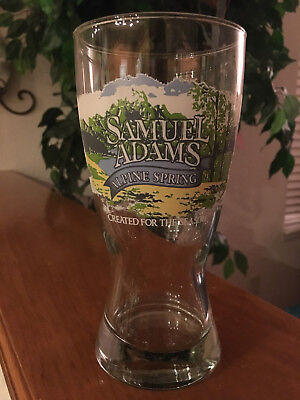 SAMUEL ADAMS Alpine Spring Created for the Season PINT BEER GLASS 16 oz