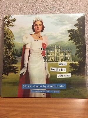 Anne Taintor 2018 Wall Calendar, New, Free Shipping