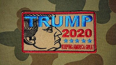 New Trump 2020 Tactical Morale Politics Airsoft Army Patch Australia Seller Aus