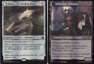 Elbrus, the Binding Blade / Withengar Unbound FOIL | NM | FtV: Transform | Magic