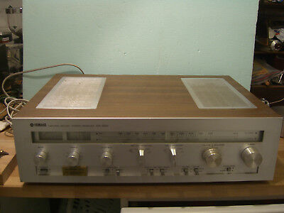 YAMAHA CR - 620 , Natural Sound Stereo Receiver , Vintage ca 1977 .