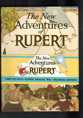 RUPERT ANNUAL 1936 FACSIMILE with wrap round band F
