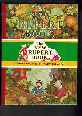 RUPERT ANNUAL 1938 FACSIMILE with wrap round band