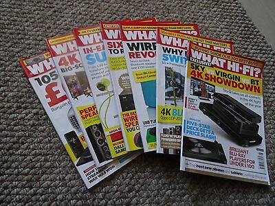 what hi-fi magazines, various editions