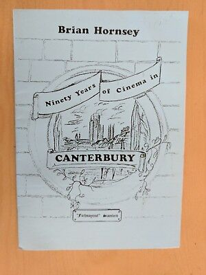 90 YEARS of CINEMA film softcover booklet CANTERBURY
