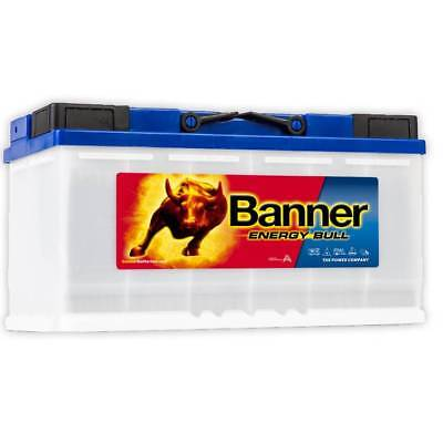 12v Banner 110ah Energy Bull Ultra Deep Cycle Caravan Leisure Battery