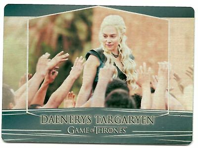 2017 Game of Thrones Valyrian Steel 4A Daenerys Targaryen Alternate Rewards Card