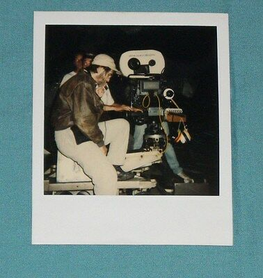 original POLAROID PHOTO photograph of movie film director TOBE HOOPER