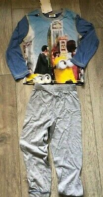 light blue Despicable Me Minions nightwear pyjamas sleepwear NEW  Girls Age 4