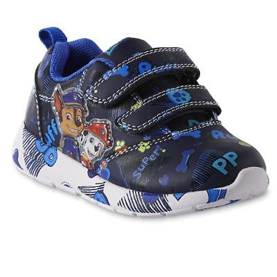 NEW Boys Toddler Light Up Paw Patrol Sneakers Shoes Size 6 7 8 9 10 11 12 Chase