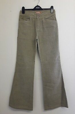 Gorgeous Beige Bootleg Cords Jeans Trousers from Billy Girls - Age 16 - Fab!