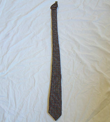 VINTAGE PATTERN MENS POLYESTER TIE RODNEY By JOHN WEBSTER RETRO 70's
