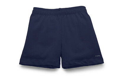 Girls Navy Modesty Shorts for Under Her Dresses and Skirts - Uniform Friendly