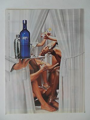 2006 Print Ad Skyy Vodka Liquor ~ Private Surprise Toast