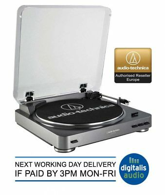 Audio-Technica AT-LP60 USB Fully Automatic Turntable Record Player