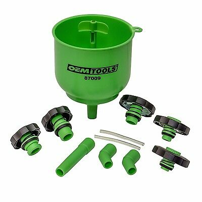 OEMTOOLS 87009 No Spill Coolant Filling Funnel Kit