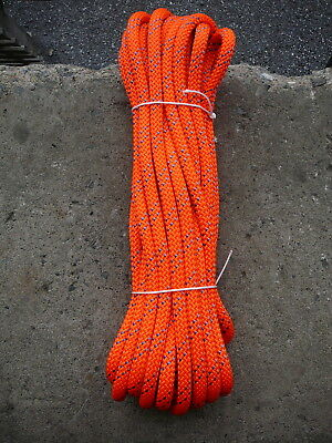 "New England Static Line Low Stretch Rope Climbing, Rappel, Tag Line  1/2"" x 47'"