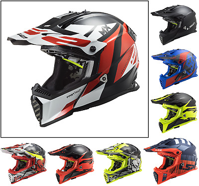 LS2 MX437 Motocross Off Road BMX Enduro ATV Motorcycle Light weight Quad Helmet