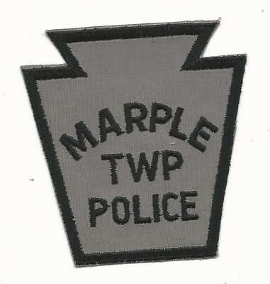 Pennsylvania Maple TWP PA Felt Police Patch Sew On Free Shipping Delaware County