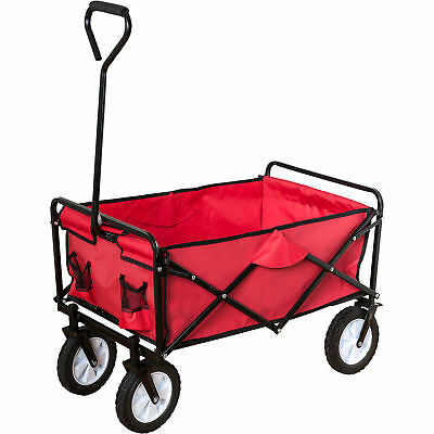 Neu Happy People Bollerwagen, rot 7195905 rot