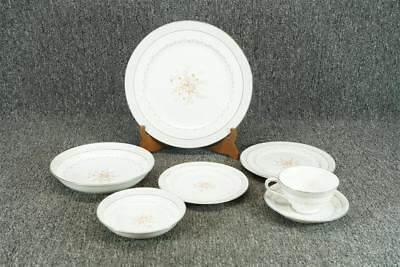 Vintage Fine China Of Japan Sonata 7 Piece Porcelain Dinnerware Set