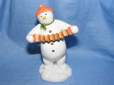 John Beswick El Snowman And The Snowdog Accordian jugador - Jbs9 Raymond Briggs