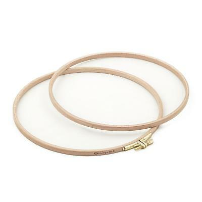 Nurge High Quality Embroidery Hoop 5.1'' / 13cm  Screwed Wooden Embroidery Hoop